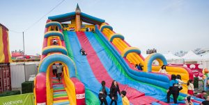 aia carnival large inflatable slide attraction